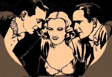 Fredric March, Gary Cooper, Miriam Hopkins by didgiv